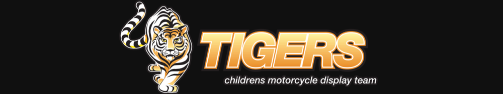 Tigers Motorcycle Display Team Logo